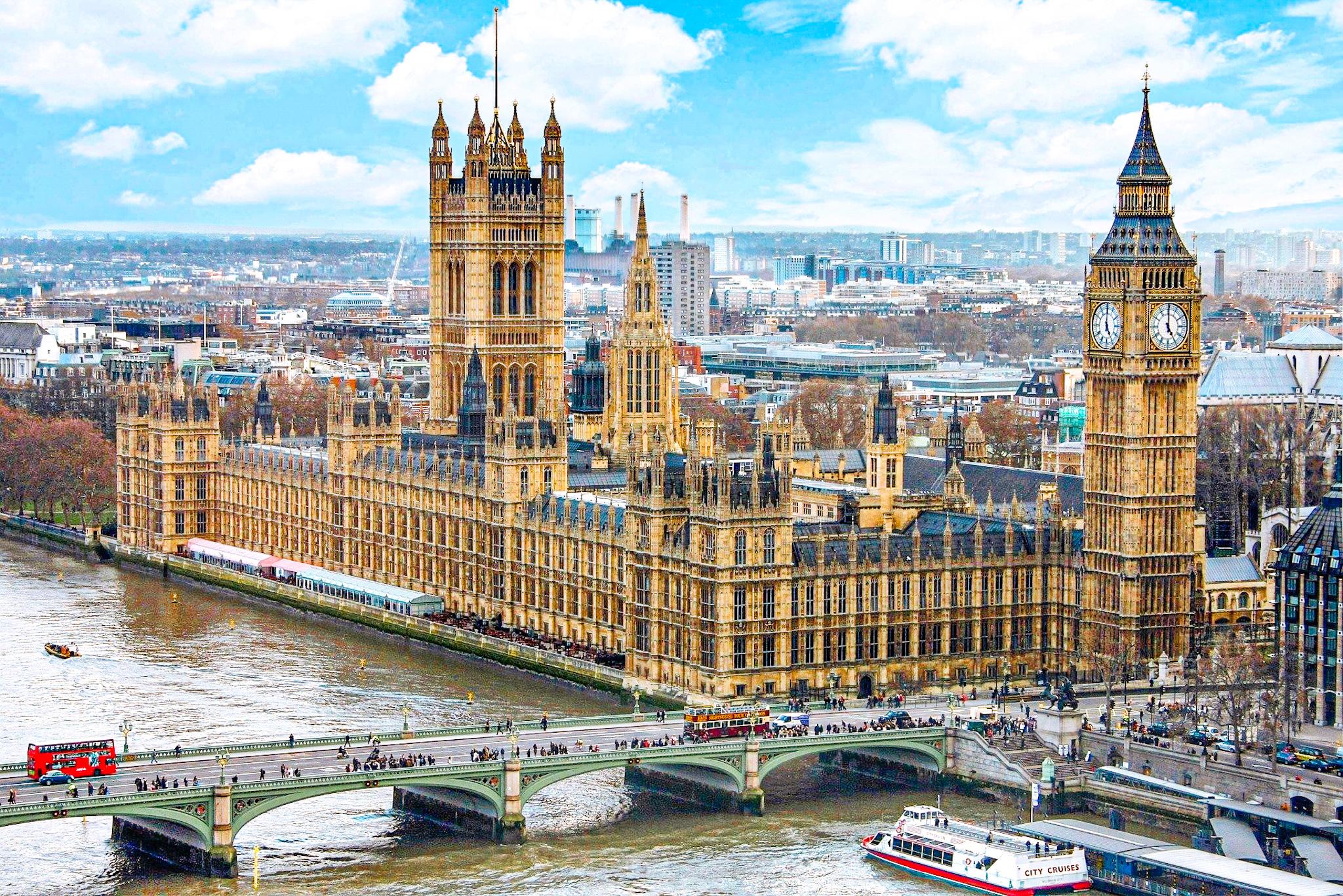 Las leyes más absurdas de Londres: es ilegal morirse en el parlamento