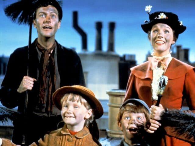 Películas sobre Londres para ver en familia: MARY POPPINS