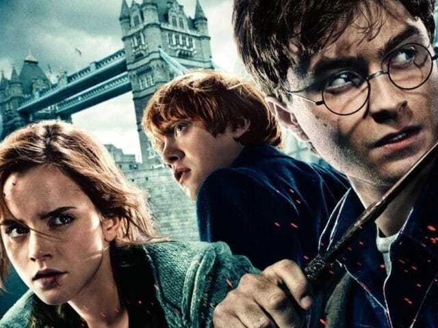 Fotomontaje escena Harry Potter
