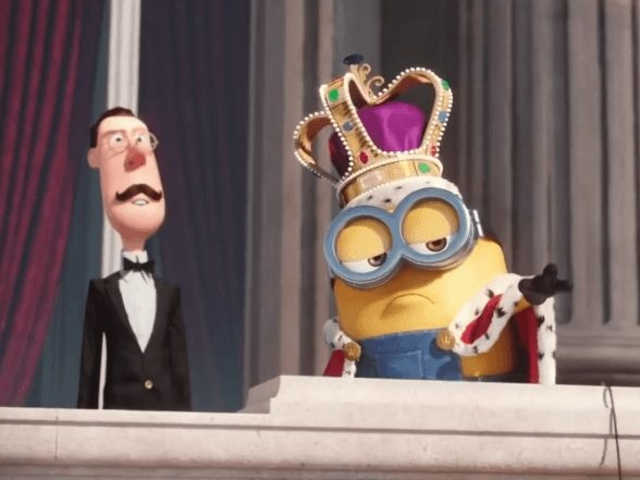 Escena de la película The Minions