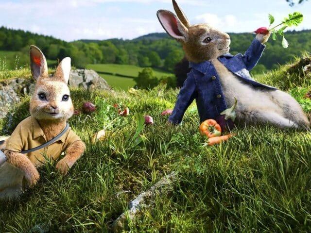 Películas sobre Londres para toda la familia: Peter Rabbit