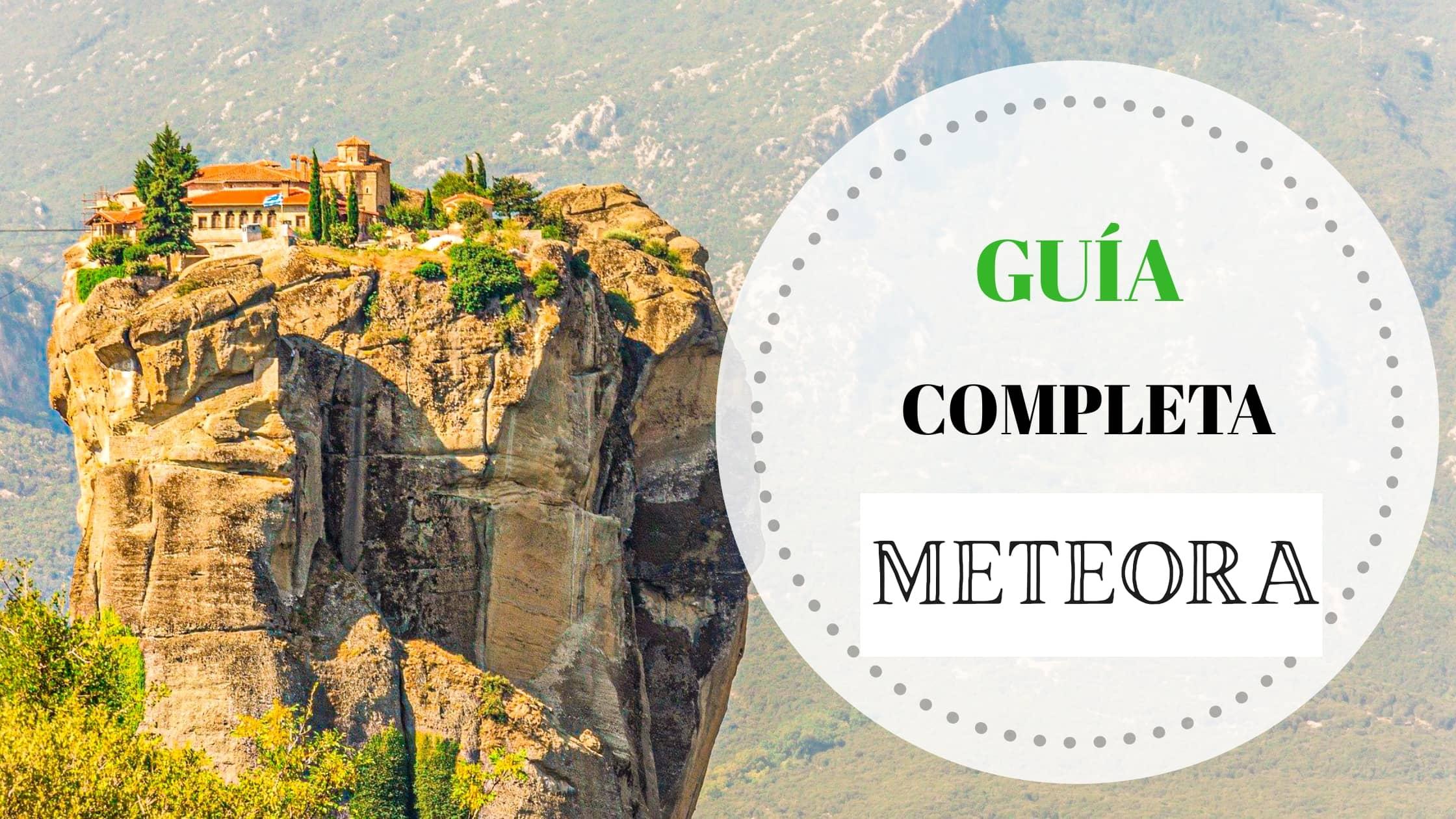 Portada Guía completa Meteora