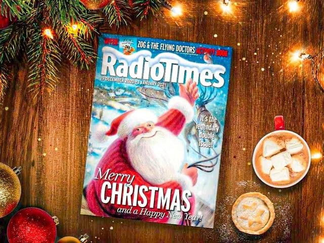 ¿Qué hacer en Londres en Navidad? portada revista Radiotimes 2020