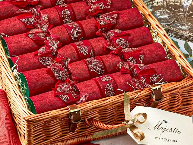 Crackers típicos de Londres en Navidad