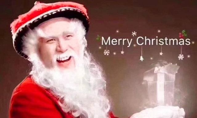 Dun Che Lao Ren es quién trae los regalos de navidad en China