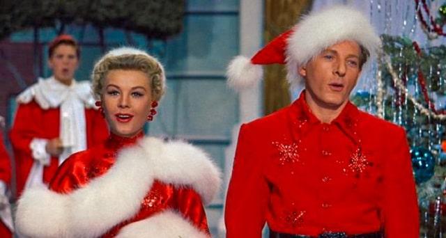 Escena de la película White Christmas