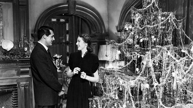 Escena de la película navideña The bishop's wife