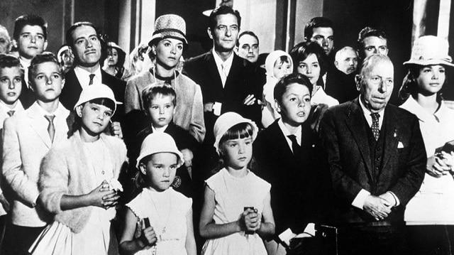 Escena de la Gran familia, una de las mejores películas clásicas para ver en Navidad