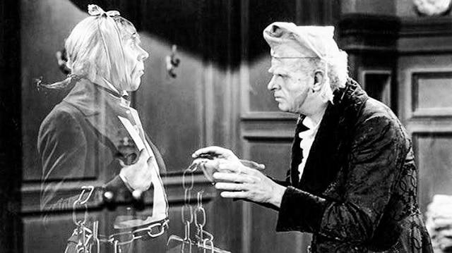 Escena de la película Un cuento de navidad (1938)
