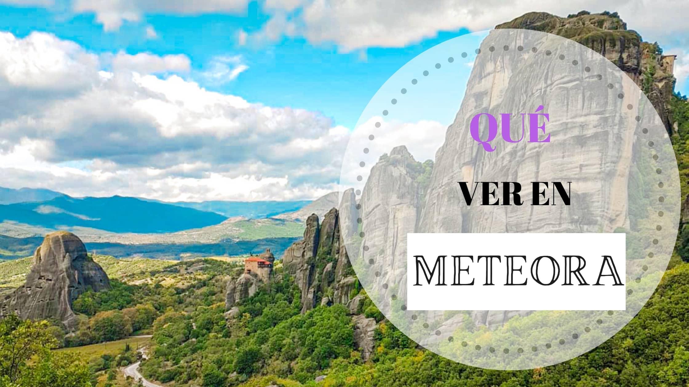 Portada artículo Qué ver en Meteora