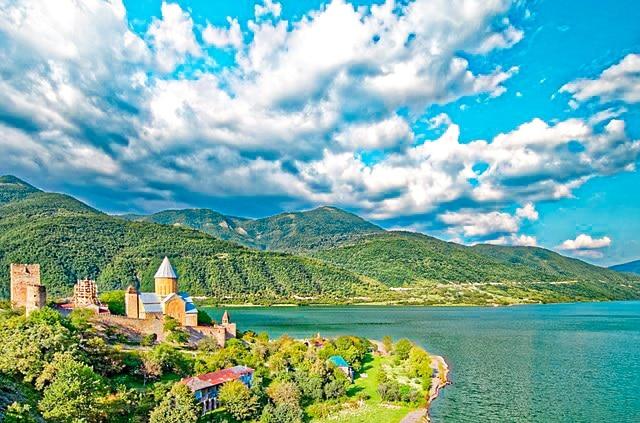 Panorámica de Georgia, destino ideal para viajar en 2021