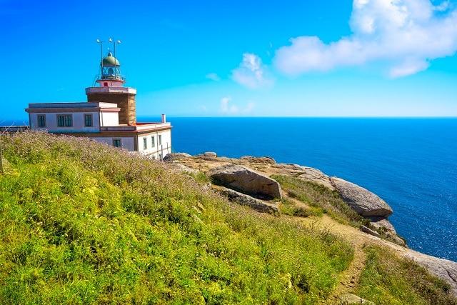 Faro del Cabo Finisterre, el primero de los lugares imprescindibles que ver en las Rïas Baixas