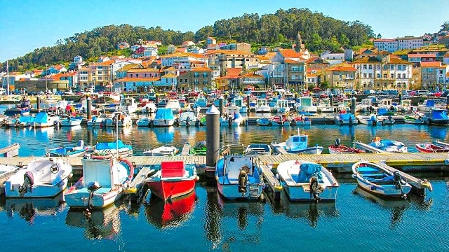 La villa marinera de Muros, en las Rías Baixas