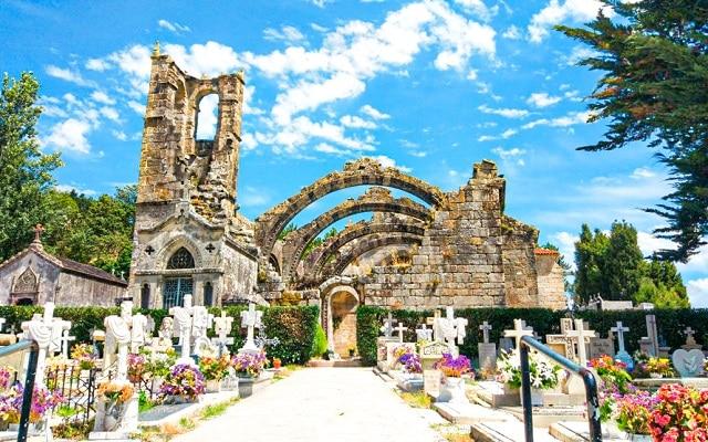 Cementerio de Cambados, uno de los lugares más curiosos que ver en la Rías Baixas