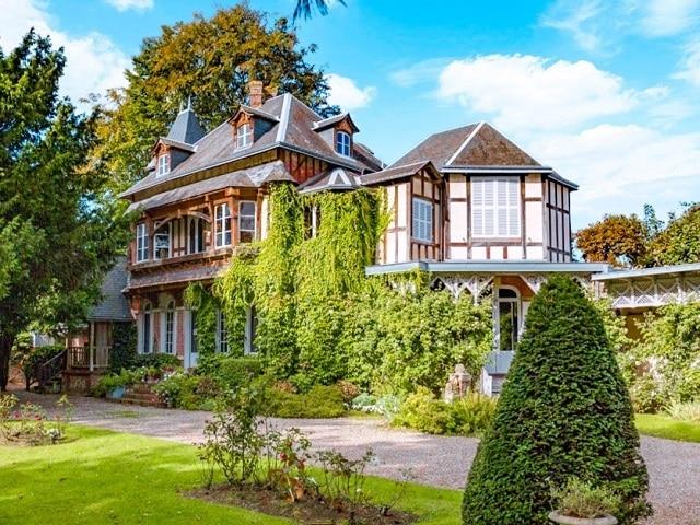 La Maison de maurice Leblanc es la localización para la casa de LUPIN