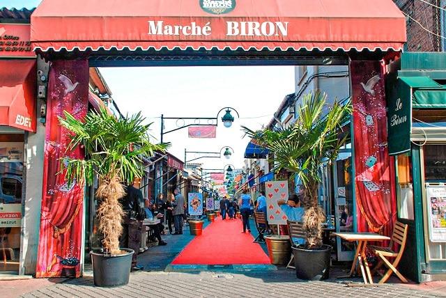 Mercado Biron es la localización de la tienda del mejor amigo de LUPIN