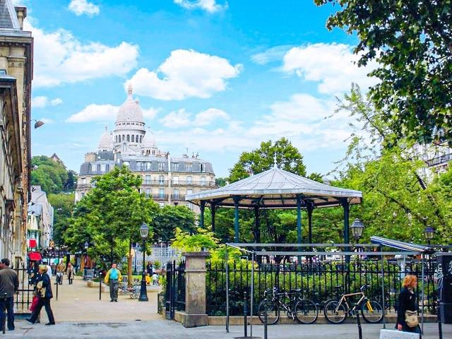 La plaza de Anvers, es la localización donde supuestamente se encuentra la casa de LUPIN (Netflix)
