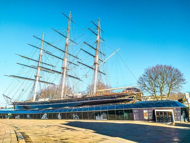 El barco Cutty Sark, un museo imprescindible que ver en Greenwich