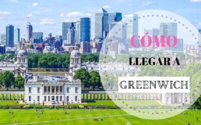 Cómo llegar al barrio de Greenwich desde el centro de Londres