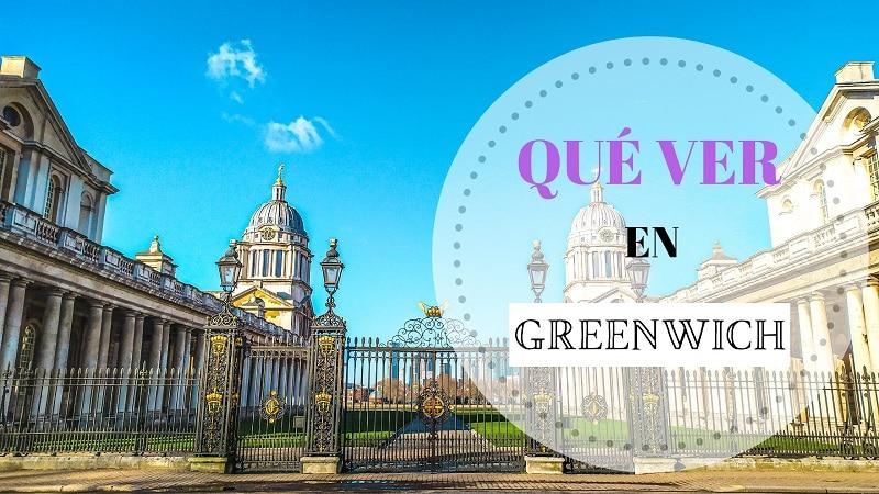 Portada Qué ver en Greenwich