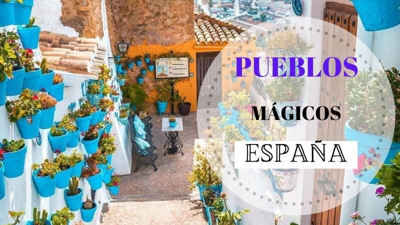 """Portada """"Los Pueblos Mágicos de España"""""""