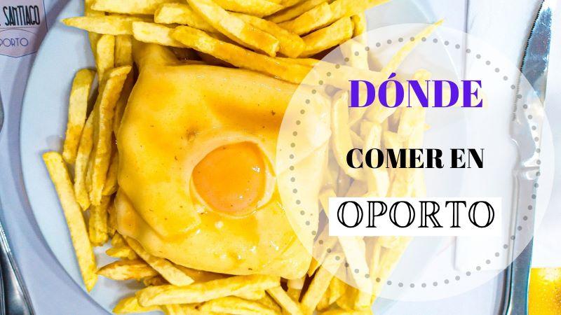 Portada Dónde y qué comer en Oporto con las 3 b´s