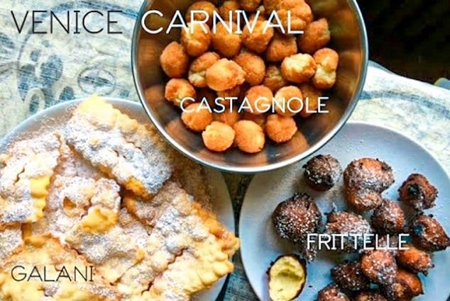 Los 3 dulces típicos del carnaval de Venecia (2021)