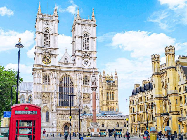 La Abadía de Westminster, uno de los edificios incluidos en la visita virtual de Londres