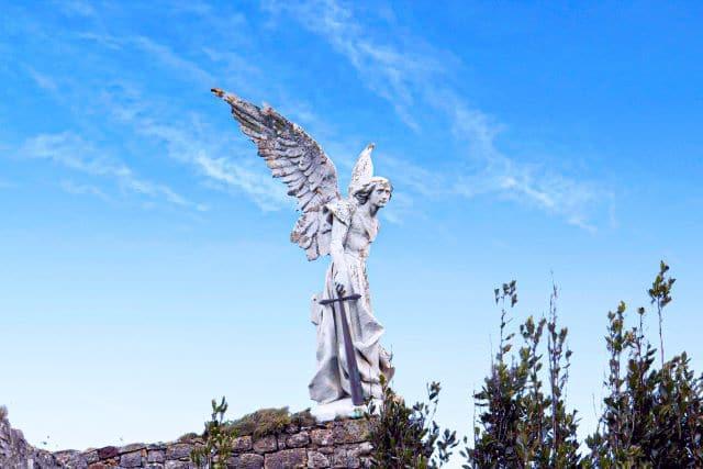 Ángel exterminador del cementerio de Comillas