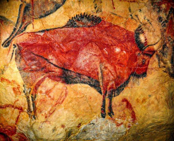 El Bisonte de la Cueva de Altamira, uno de los lugares más importantes que ver en Cantabria