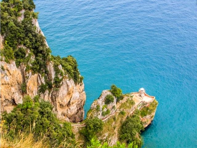 Vista del Faro del Caballo desde el alto