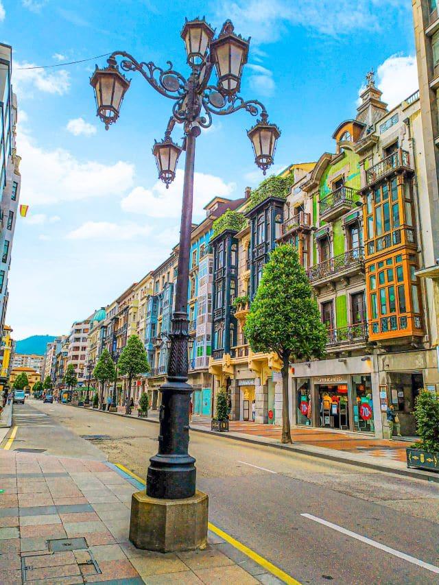 La famosa Calle Uría de Oviedo