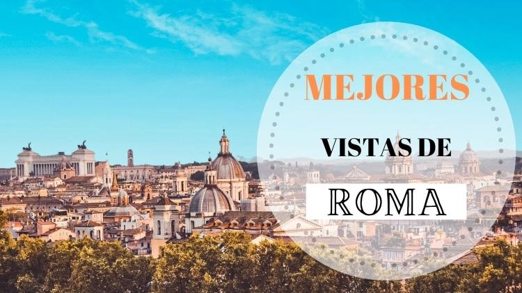 Portada las Mejores Vistas de Roma