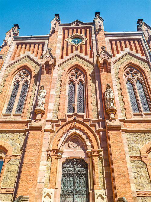 Puerta de las Virtudes de la Universidad Pontifica de Comillas