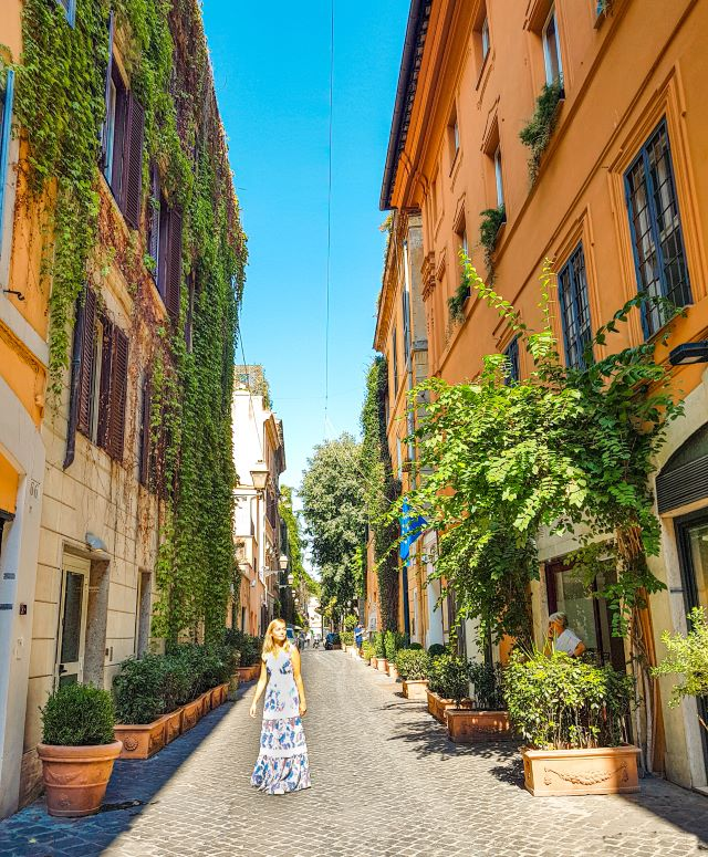 Lugares poco turísticos de Roma: Via Margutta