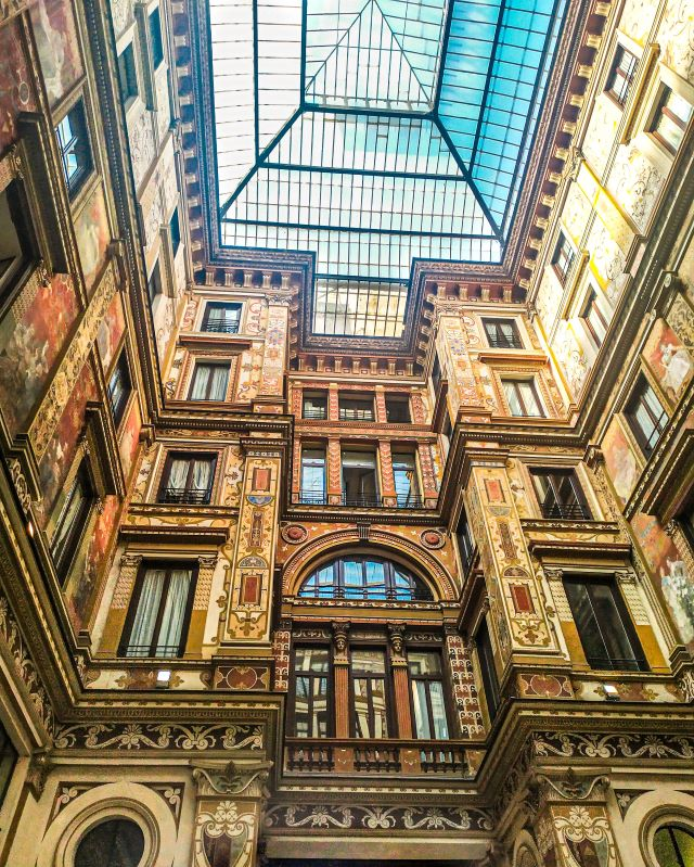 Lugares secretos de Roma: la Galleria Sciarra