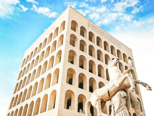 Roma secreta: el Coliseo cuadrado