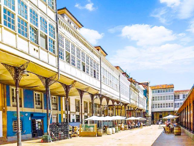 Plaza del mercado de Avilés