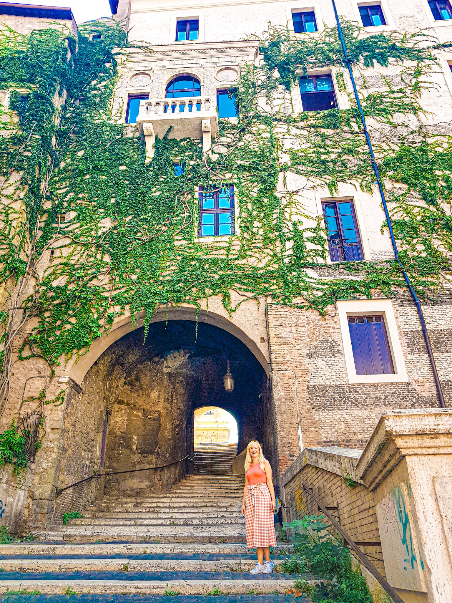 Lugares desconocidos de Roma: la Scalinata dei Borgia