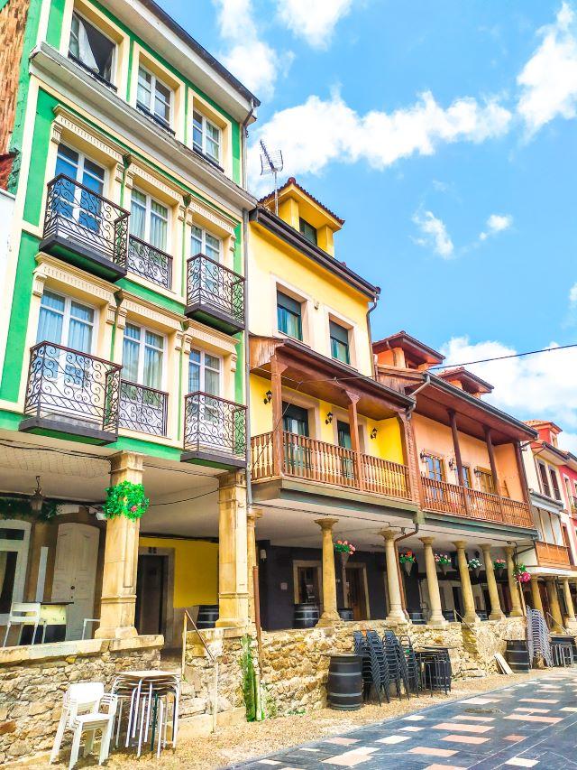Calle Galiana, la más típica y bonita que ver en Avilés en un día