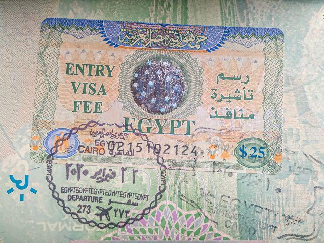Visado para viajar a Egipto por libre