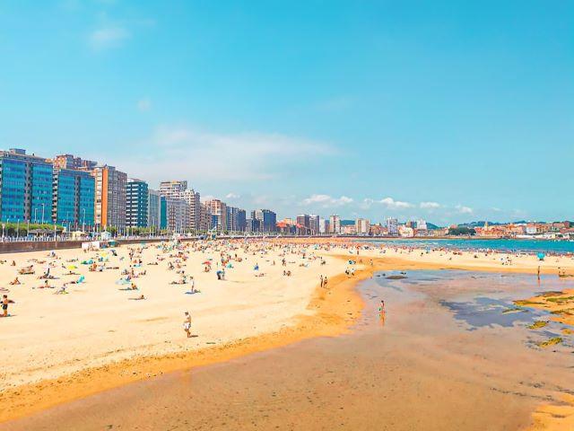 Playa de San Lorenzo de Gijón, para mí la ciudad más bonita de España