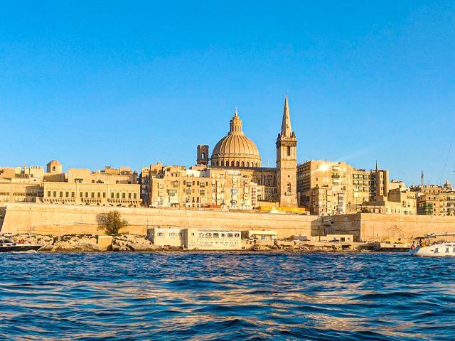 Vista de la Valeta, el lugar más imprescindible que ver en Malta