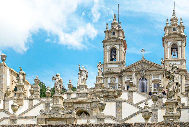 Santuario Bon Jesús do Monte en Braga