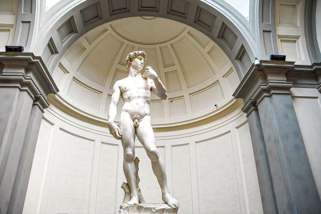 El David de Migue Ángel, una de las cosas que ver en Florencia sí o sí