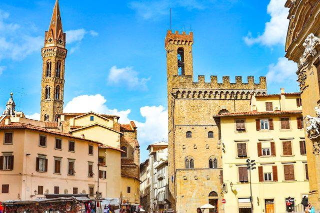 Torre de la Badia fiorentina y edificio del bargello, dos lugares menos conocidos que ver en Florencia