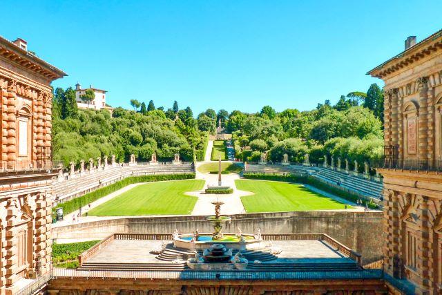 Jardines del Boboli de Florencia