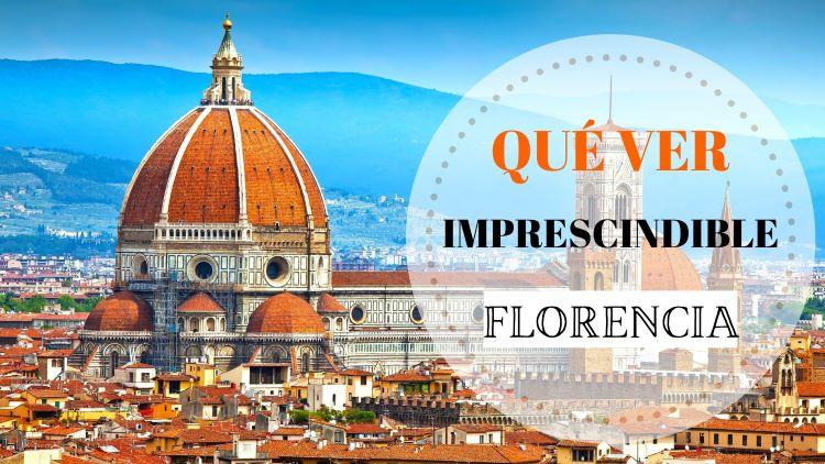 Portada qué ver en Florencia