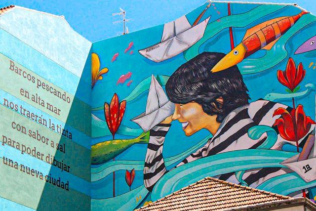 Mural de arte urbano