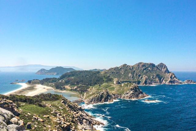 Panorama de las Islas Cíes, el lugar más espectacular qué ver cerca de Vigo
